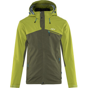 Meru Lund Waterproof 3 in 1 Stretch Jacket Men, reed green